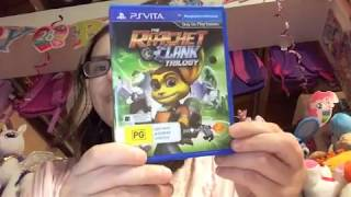 GGPR ratchet and clank HD trilogy for the PSVita