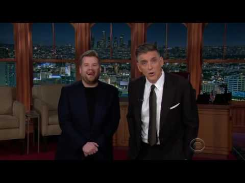 James Corden meets Craig Ferguson (Late Late Show)