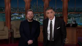 James Corden meets Craig Ferguson (Late Late Show)