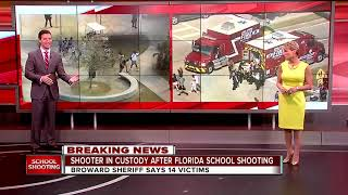 South Florida High School Shooting 14 Victims Multiple Injured