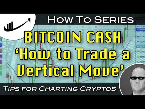 'How to Trade a Vertical Move' BITCOIN CASH : How To Series CryptoCurrency