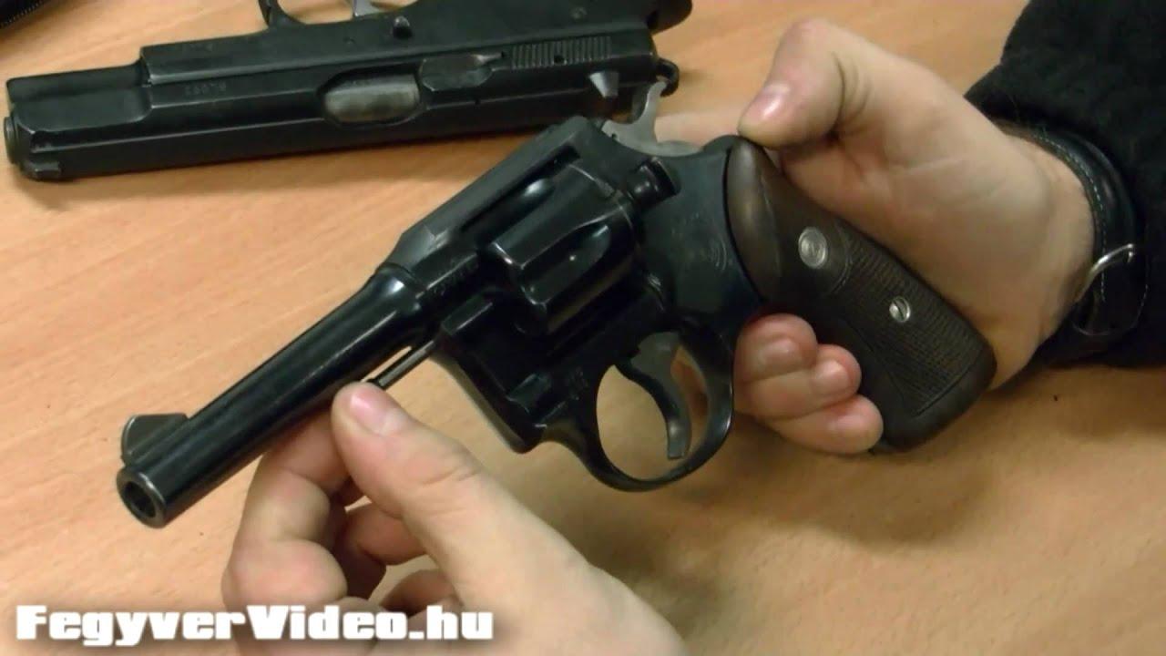 CZ Grand  38 Revolver - FegyverVideo hu