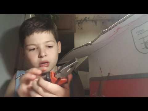 Открывай большой посылку из ali xpres.ru подарили подарок нож бабочка😱😱😱