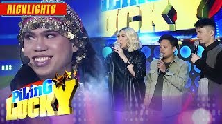 Vice, Jhong, and Vhong meet Genie-nga's stepsister | It's Showtime Piling Lucky