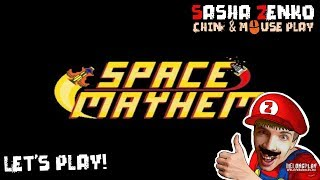 Space Mayhem Gameplay (Chin & Mouse Only)
