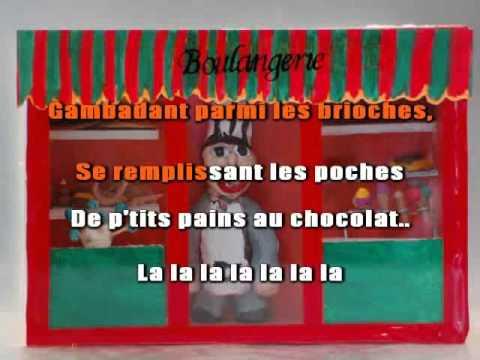 Le petit pain au chocolat - Joe Dassin ( Karaoké Chanté )