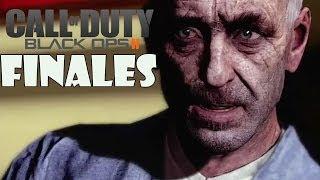 Call of Duty Black Ops 2 Todos los finales en español