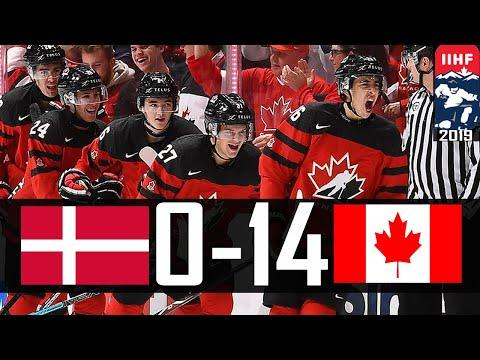 Canada Vs Denmark   2019 WJC Highlights   Dec. 26, 2018