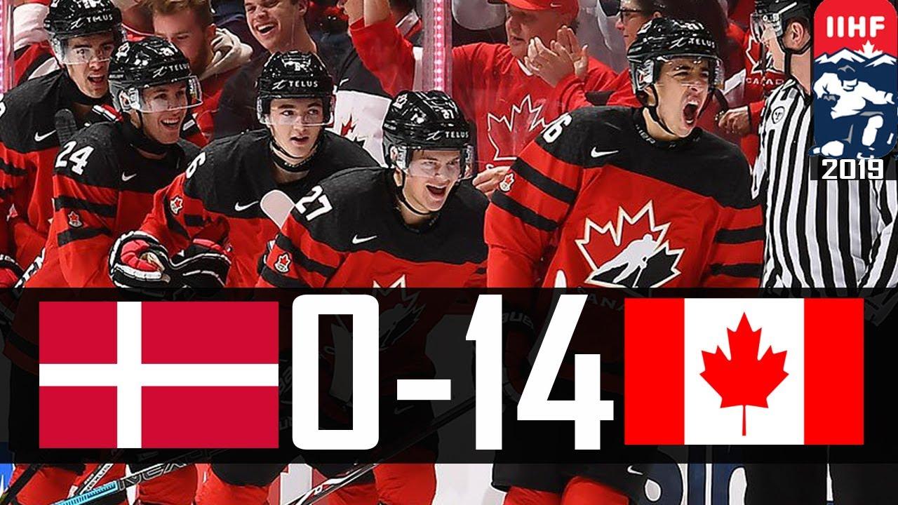 Canada Vs Denmark 2019 Wjc Highlights Dec 26 2018