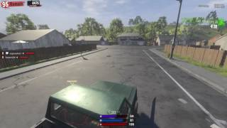 H1Z1  King of the Kill 2 Tap Hip fire from car