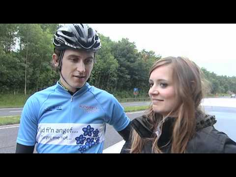 Geraint and Sara Charity Ride in Memory of William Glyn Thomas