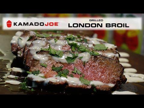 Kamado Joe Grilled London Broil