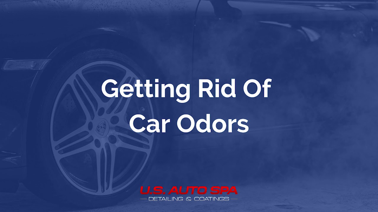 How can you get rid of car odors for good?