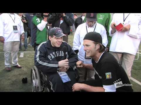 Ablevision interviews Tom Brady and Wes Welker at the Best Buddies Football Challenge