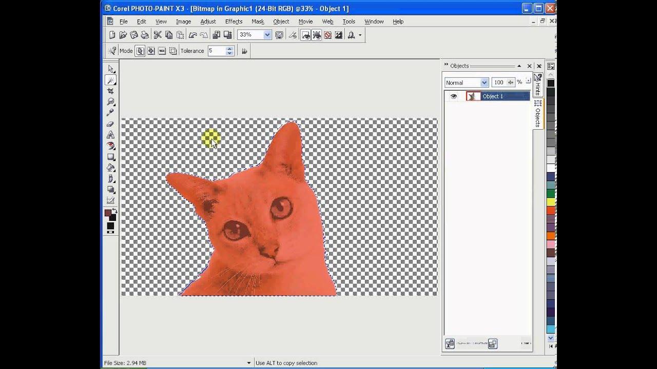 Make A Jpeg Transparent In Paint
