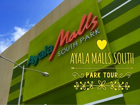 Ayala Malls South Park Tour Alabang Muntinlupa Now Open! by HourPhilippines.com