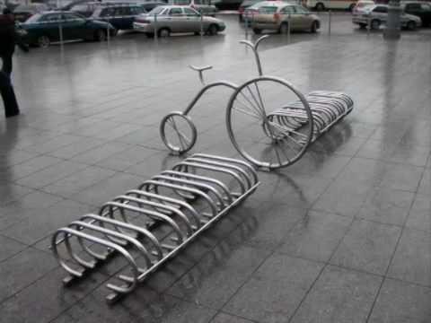 стоянка для велосипедов фото