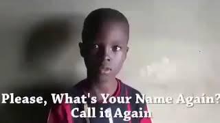 #юмор   Мальчик,  как тебя зовут?