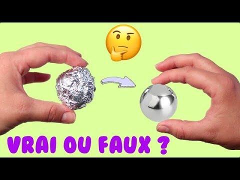 CHALLENGE BOULE D'ALUMINIUM ! CA MARCHE OU PAS ? TEST⎮Reva ytb