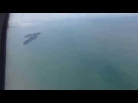 Aerial Footage of Second Penang Bridge