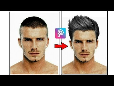 How To Change Hairstyle In Picsart Change Hair In Picsart Youtube