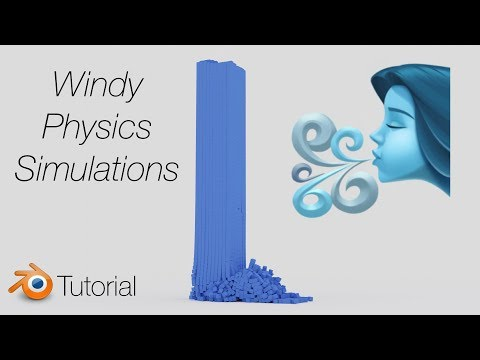 [2.81] Blender Tutorial: Wind in Physics Simulations thumbnail