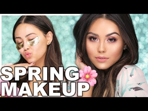 ULTIMATE SPRING MAKEUP TUTORIAL | Roxette Arisa