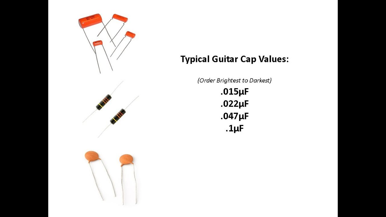 small resolution of guitar capacitors 101