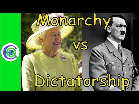 Difference Between Monarchy and Dictatorship