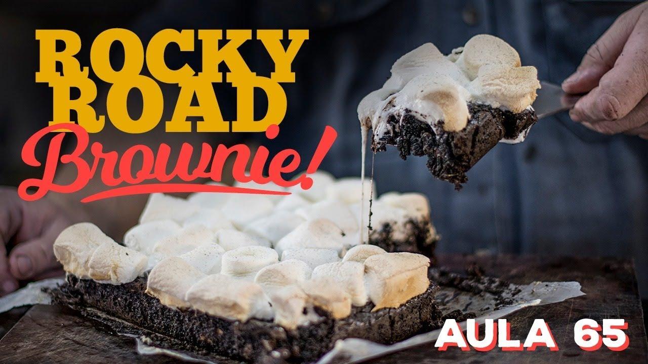 Rocky Road Brownie (Como fazer um Brownie PERFEITO!) / Cansei de Ser Chef