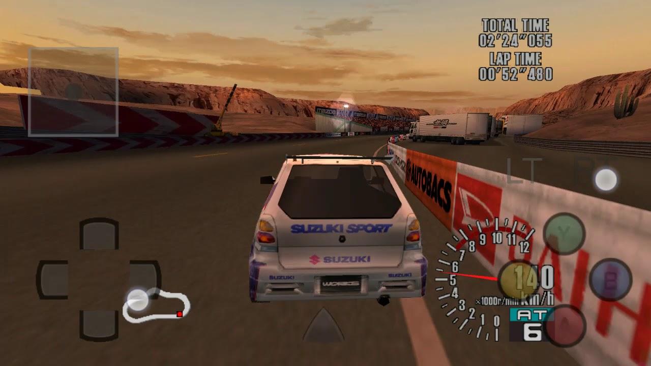Android DreamCast Emulator ReiCast Sega GT - Homologation Special Game Play