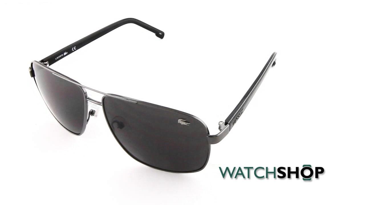 4e1f6ea9717cc6 Lacoste L162S Sunglasses (L162S-033) - YouTube