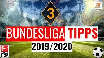Bundesliga Tipps #3 - Vorhersagen und Wetten zum 3. Spieltag 2019/2020