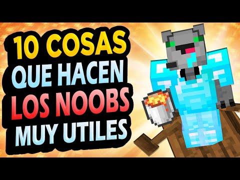 ✅ 10 Cosas de Noobs ÚTILES en Minecraft!! #4