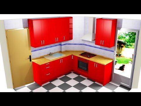 Como montar una cocina doovi for Duchas modernas sodimac