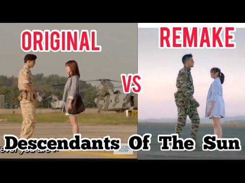 DESCENDANTS OF THE SUN ORIGINAL VS REMAKE || DOTS PHILIPPINES ADAPTATION GMA