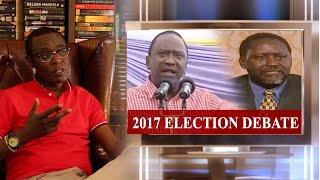 our first presidential debate for 2017 uhuru vs raila