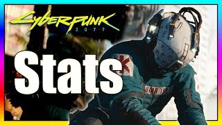 Cyberpunk 2077: Detailed Look at Bio Stats, Street Cred & Humanity