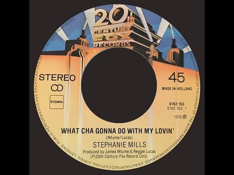 Stephanie Mills ~ What Cha Gonna Do With My Lovin' 1979 Disco Purrfection Version