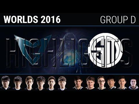 TSM vs Samsung Galaxy Highlights, S6 World Championship 2016 W2D7 Group D, TSM vs SSG