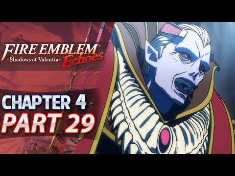 Fire Emblem Echoes: Shadows of Valentia - Act 4: Part 29 - Jedah & Dracoshield (Hard/Classic)
