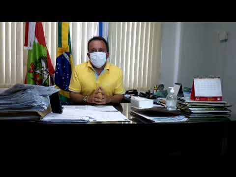 17/04 Live feita pelo Prefeito Juliano Duarte Campos do Município de Governador Celso Ramos