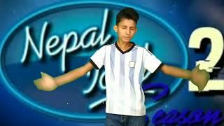 Nepal Idol Season 2 Audition | Small  Jhhakad | Ganesh GD