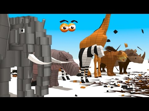 CUBE BUILDER for KIDS (HD) – Build African Animals for Children – AApV