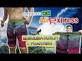 UNBOXING ALIEXPRESS BRASIL 2018 - BERMUDA HURLEY PHANTOM #2 Download MP3