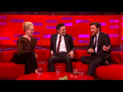 The Graham Norton  with James McAvoy, Meryl Streep, Mark Ruffalo 09 Jan 2015