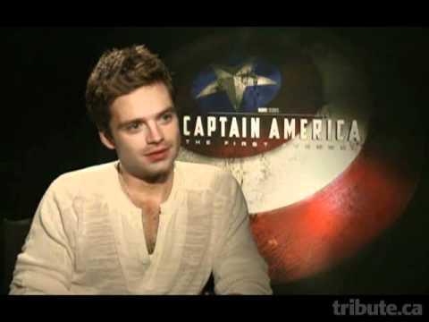 Sebastian Stan Captain America Interview Youtube