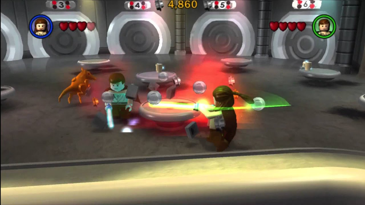 Lego Star Wars The Complete Saga Walkthrough Part 1 Ps3 Youtube