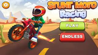 Stunt Moto Racing Level 1-10 Mobile/Tablet Game