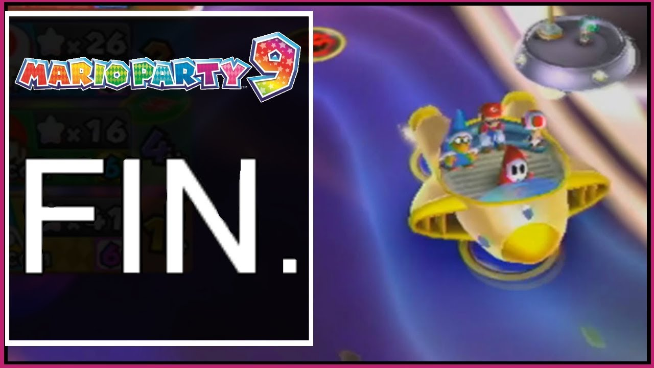 Mario Party 9 Finale Bowser Station